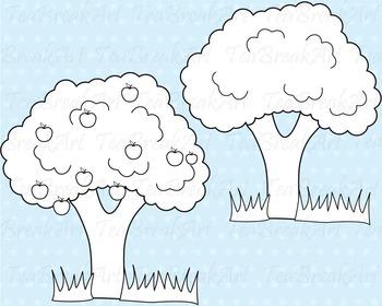 15 PNG Files- Adam and Eve Outline Clip Art- Digital Clip Art