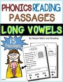 15 Phonics Reading Passages (Long Vowels)