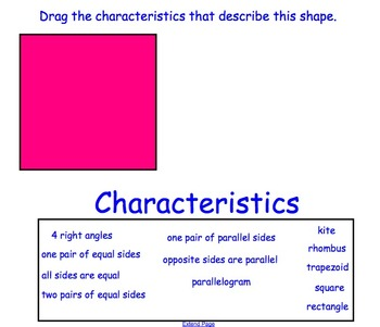 1.5 Polygons- Everyday Math, Grade 4