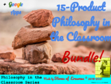 """15-Product """"Philosophy in the Classroom"""" Lesson Bundle (Mi"""