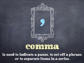 15 Punctuation Marks PowerPoint