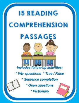 15 Reading Comprehension Passages