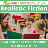 15 Realistic Fiction Read Alouds: Interactive, Versatile, CC-Aligned for Gr. 3-4