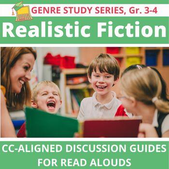15 Realistic Fiction Read Alouds: Interactive, Versatile, CC-Aligned, Grades 3-4