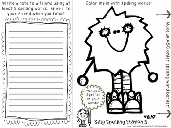 15 Spelling Centers - Fun Activities for ANY Word List