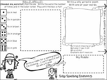 15 Spelling Centers | Fun Activities for ANY Word List