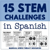 15 STEM Challenges and Science Experiments in Spanish