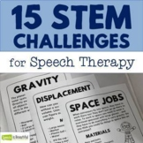 15 STEM Challenges and Science Experiments in Speech Therapy