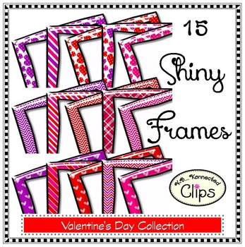 15 Shiny Frames - Valentine's Day Collection