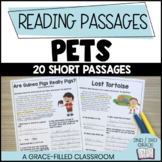 Pet Themed: 20 Short Reading Passages