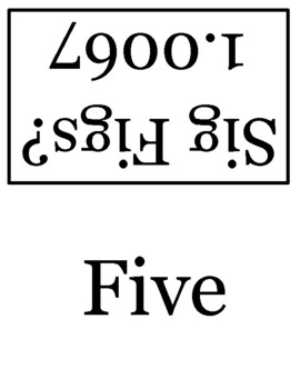 15 Significant Figures and Scientific Notation Flashcards
