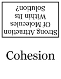 15 Solution Chemistry Flashcards