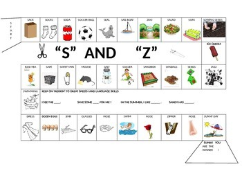 15 Sound specific Picture Gameboards with carrier phrases also  fall and zoo