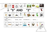 15 Sound specific Picture Gameboards with carrier phrases