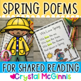 15 Spring Themed Sight Word Poems for Shared Reading (for