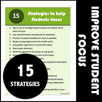 Strategies to Help Students Focus