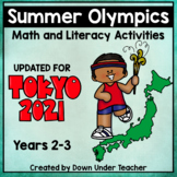 Summer Olympics Tokyo 2021 Math and Literacy Activities