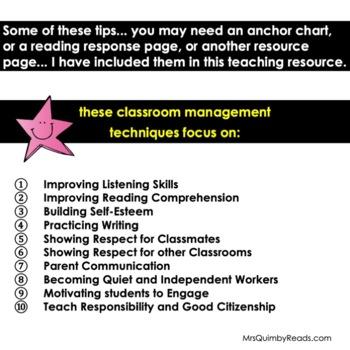 Classroom Management - Citizenship - 15 Teacher Classroom Routines