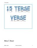 15 Terse Verse