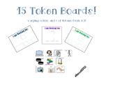 15 Token Boards!