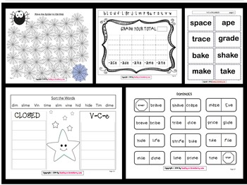 15 V-C-e Syllable Activities & Games