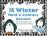 15 Winter Common Core Math & Literacy Centers {For the Months After Christmas}