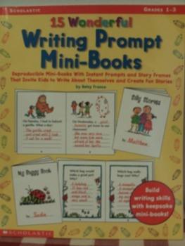 15 Wonderful Writing Prompts Mini-Books