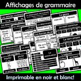 15 affichages de grammaire