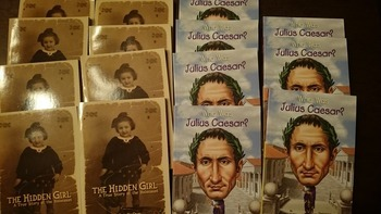 15 copies: Hidden Girl, A True Story of the Holocaust  & W
