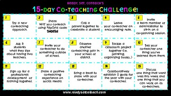 15-day Co-Teaching Challenge!