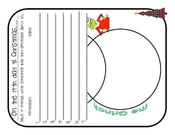 15 days til Christmas activity booklet