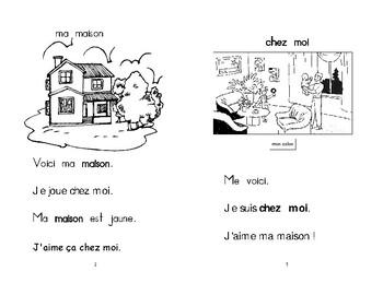 15) ma maison - livret de lecture ENFANT C1 Mat. et 1ère