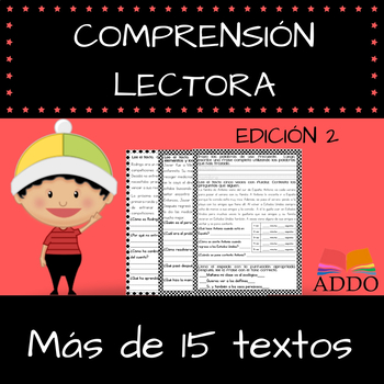 Comprension lectora - Textos en español (15+)| Reading comprehension - Edición 2