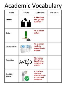 15 weeks of academic vocabulary