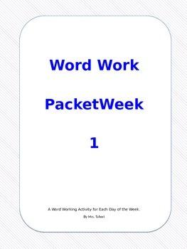 15 weeks of word work