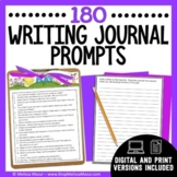 Writing Prompts - Distance Learning