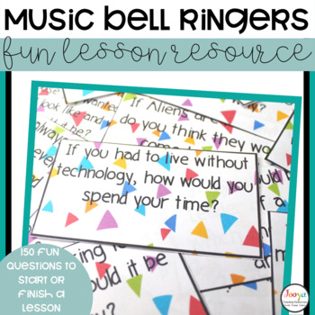 150 Bell Ringer Questions