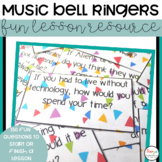 Bell Ringer Questions for Music