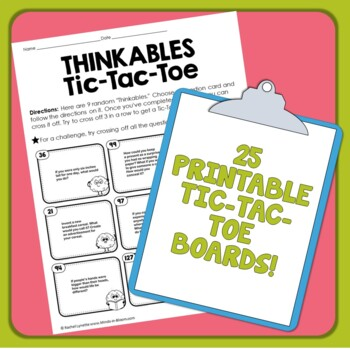 Early Finishers Task Cards