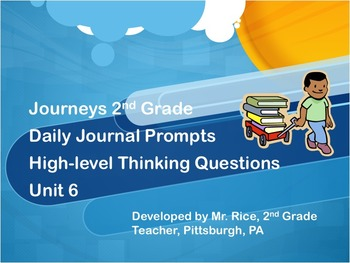 150 Days of 2nd Grade Journeys Daily Writing Prompts