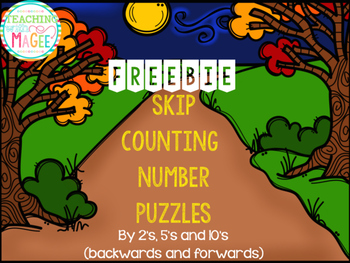 150 FOLLOWER FREEBIE - Skip Counting Pictures