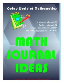 150 Math Journal Prompts
