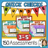 150 Math Worksheets for Distance Learning 3rd, 4th, 5th gr