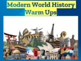 150+ Modern world history warm ups for the entire year