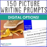 150 Picture Writing Prompts | Great as Emergency Sub Plan Writing Activities