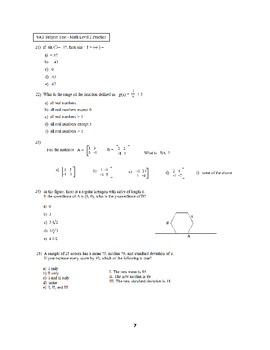 150 SAT Subject Test Math Level 2 practice questions