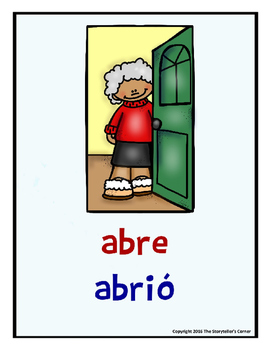 150 Spanish Verb Posters