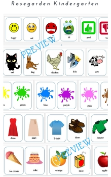 150 essential words (Flashcards in English)