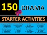 150 x Drama Starters Settlers Wordsearches Crosswords Keywords