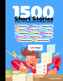 1500 Short Stories & More for Elementary and Middle School